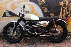 Honda CB200 by Brodonolo Custom Garage