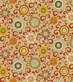 Waverly Modern Essentials Fabric-Pom Pon Play / Harvest: home decor fabric: fabric: Shop | Joann.com