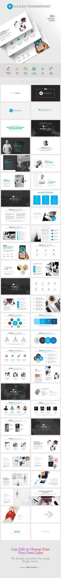 Creative Minimal PowerPoint Presentation Template Presentation Slides, Powerpoint Presentation Templates, Business Proposal, Keynote, Minimalism, Vector Free, Web Design, Creative, Prints