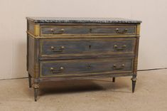 One of our newer pieces, French Century Marble Top Chest. Chest www.