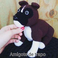 Bóxer  #amigurumistas #crochet #ganchillo #amigurumi #boxeramigurumi by amigotedetrapo