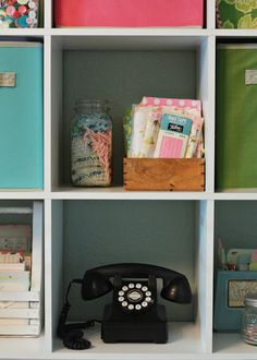 amy j. delightful blog: HOME SWEET HOME TOUR... Spring Cleaning in the Office
