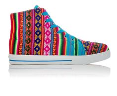 INKKAS® Shoes - Handmade in South America - Blue Mist | INKKAS Phuyupata Shoes | Tribal & Aztec Shoes