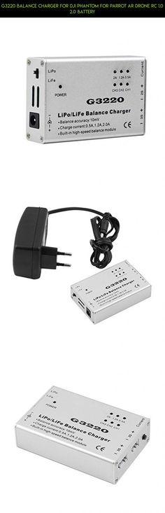 G3220 Balance Charger For DJI Phantom For Parrot Ar Drone RC 1.0 2.0 Battery #gadgets #camera #kit #racing #products #drone #plans #technology #shopping #fpv #parts #parrot #1.0 #tech #battery