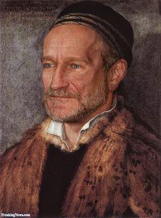 Robin Williams Painting