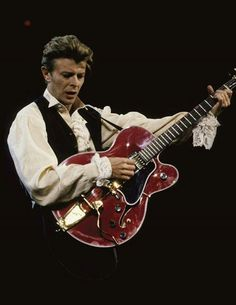 But boy, could he play guitar. David Bowie