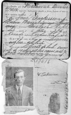 Vartivar Sarkissian Born in ARMENIA (Argentinian Diaspora)