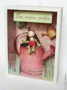"""""""Les Mains Vertes"""" - Photo de BOITES ET CADRES DISPONIBLES * Available boxes and frames - Tibout de blog"""