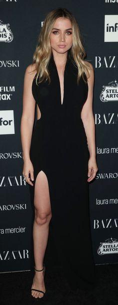 ANA DE ARMAS at Harper's Bazaar Icons Party in New York 09/08/2017
