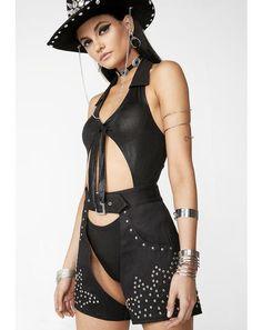 feed9f2323a Club Exx. Jailhouse Rock Studded Chaps  dollskill  clubexx  festival   coachella  cowgirl ...