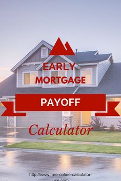 home loan early payment calculator
