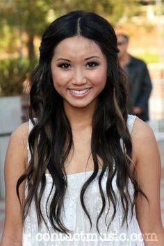 Brenda Song, long hair hairstyle