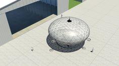 ハイパースフィアHS-5K(HyperSphere HS-5k)。クロアチアに拠点を置くHypersphere ltd.によって提案されたドローン。低コストで連続した監視ミッションに対応するとのこと。滞空時間は4日間。