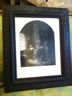 """Gravure d'après une peinture de Gerhard Dow """"Marquis de Stafford"""" - http://www.lesbrocanteurs.fr/annonce-antiquaire/gravure-dapres-une-peinture-de-gerhard-dow-marquis-de-stafford/"""