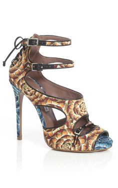 Tabitha Simmons Fish Print Bailey Bootie at Moda Operandi