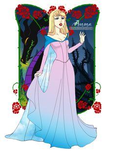 Disney My Way_Aurora by *ShawnaSheffler on deviantART