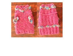 Pretty in Pink Dog Sweater - B*tchin' Knits