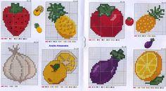 1 million+ Stunning Free Images to Use Anywhere Cross Stitch Fruit, Butterfly Cross Stitch, Cross Stitch Bookmarks, Cross Stitch Alphabet, Cross Stitch Embroidery, Cross Stitch Patterns, Pixel Art Fruit, Knitting Paterns, Free To Use Images