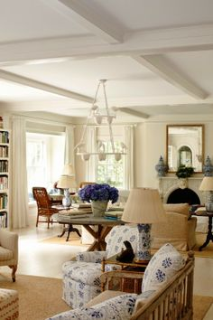 Home of Catie Marron and her family featured in the January 2012 issue of Vogue magazine