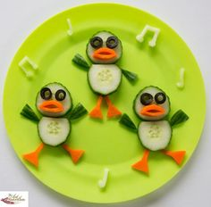 Fun healthy snacks for kids ducks