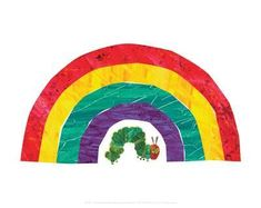 The Very Hungry Caterpillar Art Print by Eric Carle at Art.co.uk