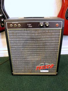 "Vintage 1960's Teisco Del Ray Japan Combo Amplifier Amp. Bought this broken for 25 bucks at Sams Emporium pawn shop.   Then replaced the amp with a realistic PA and a 12'"" speaker. Looked original but sounded great. Should have kept it."