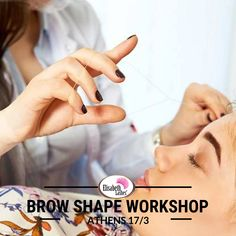 🔝Σεμινάριο για σχηματισμό και βαφή φρυδιών και βαφή βλεφαρίδας από την Elisabeth Lashes! 📍Αθήνα | 17 Μαρτίου Brow Shaping, Lash Extensions, Athens, Brows, Workshop, Shapes, False Eyelashes, Eyebrows, Eye Brows