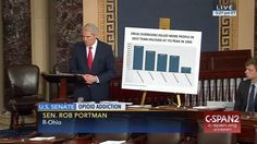Who: Senator Rob Portman (R-Ohio)  When: May 2017  What: Opioid addiction  Watch on C-SPAN  Read Congressional Record