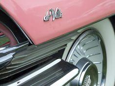 Pink Cadillac De Ville. Beautiful car <3