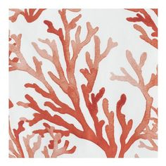 Shaded hues lend an underwater effect to our painterly coral print, highlighting its tropical inspiration. Printed on our smooth and subtly lustrous white cotton percale, the design spans the front and back of each piece. Coral Painting, Coral Watercolor, Coral Bedding, Linen Bedding, Bed Linens, Bedding Sets, Pottery Barn Teen Bedding, Coral Design, Coral Pattern