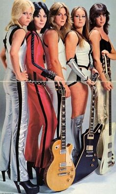 The Runaways cherie currie joan jett sandy west lita ford and jackie fox