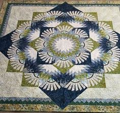 Woodcarver's Star, Quiltworx.com, Made by Shirley Budwig