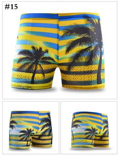 Men Swimming Trunks Swimwear Sports Shorts Boxers Inner Pants at Banggood