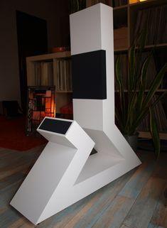 The Evince floorstanding loudspeaker from Germany. A speaker design that truly stands apart. #hifi #audio #speaker