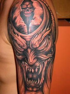 Evil Tattoo Designs for Men | Evil Men - Free Download Tattoo #32309 Tattoo Designs Women Isdog Evil ...