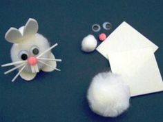Easter Crafts for Kids - Easter Bunny kit - littlecraftybugs.co.uk supplies (ideas of things to make :)
