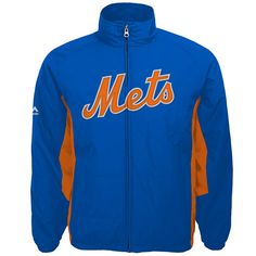 New York Mets Youth Double Climate On-Field Jacket - MLB.com Shop Field 51979ac9eb