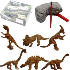 Toys & Hobbies 12pcs Dinosaur Toys Fossil Skeleton Simulation Model Set Mini Action Figure Jurassic Educational Creative Toys For Boys Children Delicious In Taste
