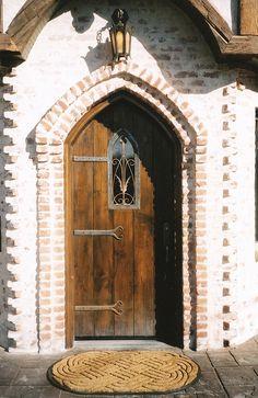 Storybook Entry Door Denver 1 by samhackwell, via Flickr
