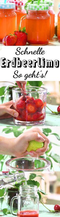 Einfache Erfrischung für den Sommer - so lecker und leicht gemacht!