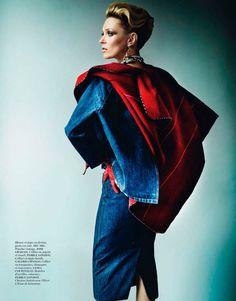 Editorial L'Étoile De Lima – Kate Moss by Mario Testino for Vogue Paris