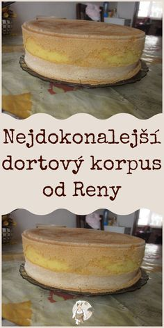 Nejdokonalejší dortový korpus od Reny #dortový Pumpkin Recipes, Fall Recipes, Cooking Tips, Cooking Recipes, Mini Cheesecakes, Pavlova, Sweet Desserts, Amazing Cakes, Vanilla Cake