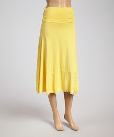 Look at this Buttercup Convertible Midi Skirt on #zulily today!