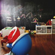 #play. chalkboard playroom
