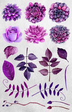 Galería de símbolos face flores en a4