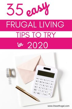 Frugal Living in 2020 - I Heart Frugal Living On A Budget, Frugal Living Tips, Frugal Tips, Ways To Save Money, Money Tips, Money Saving Tips, Managing Money, Money Budget, Budget Meals