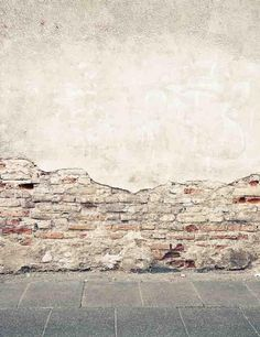 Senior Shedding Painted Brick Wall With Stone Floor Backdrop For Photo Studio Wall Backdrops, Diy Backdrop, Fabric Backdrop, Best Photo Background, Wood Background, Wood Floor Texture, Painted Brick Walls, Brick Flooring, Brick And Stone