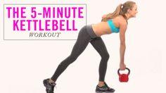 4 Kettlebell Exercises That Burn Major Calories; good video of each exercise