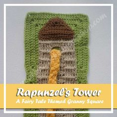 Rapunzel's Tower - Free Crochet Pattern by Creative Crochet Workshop exclusively for The Stitchin' Mommy | www.thestitchinmommy.com