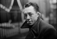 By Henri Cartier-Bresson. This is a portrait of the French writer Albert Camus. I don't have much to say about this image other than it's just a beautiful portrait. The bokeh in the background is so brilliantly soft and he's employed a brilliant use of under-exposure to achieve a very moody portrait.